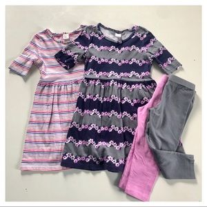 Gymboree Dress and Leggings Bundle
